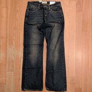 AE Men's Distressed Low Rise Bootcut Jeans 30x32